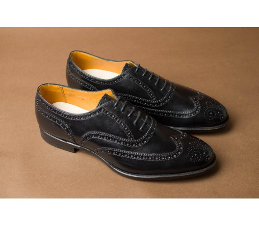 BLACK FULL BROGUE